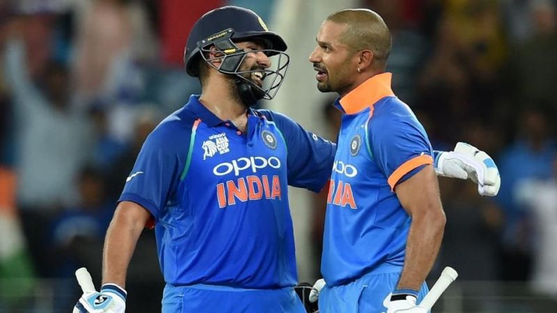 Rohit Sharma And Shikar Dhawan