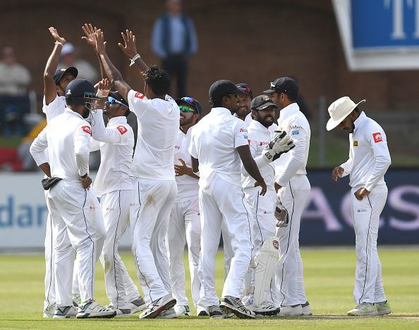 Sri Lanka have now won four Tests in a row against South Africa