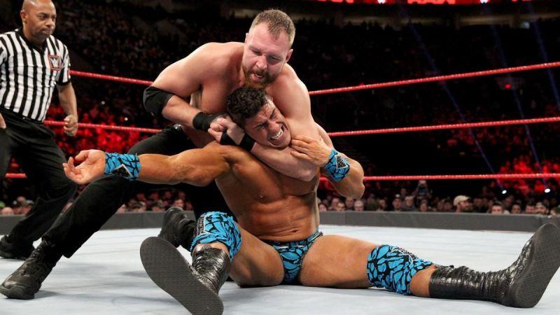 Why did Dean Ambrose lose against EC3 on RAW?