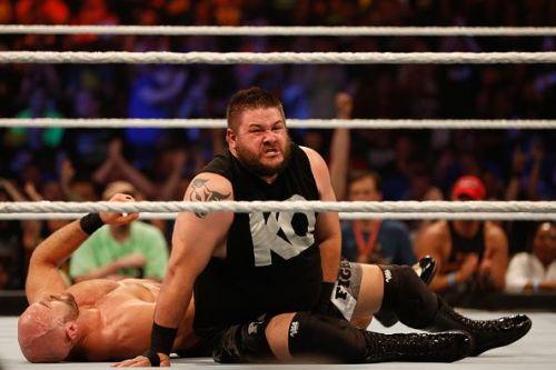 Kevin Owens at WWE SummerSlam 2015