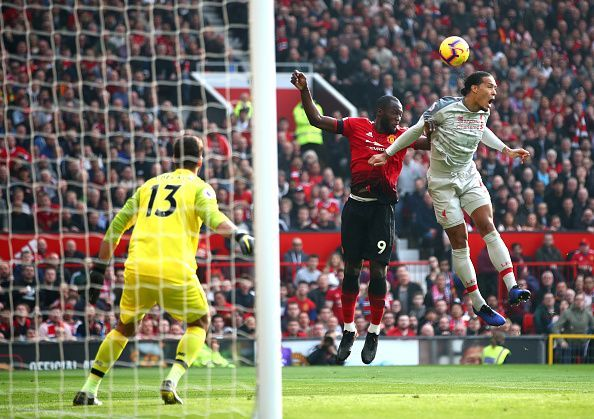 Lukaku was effectively marshaled by the returning van Dijk and left frustrated