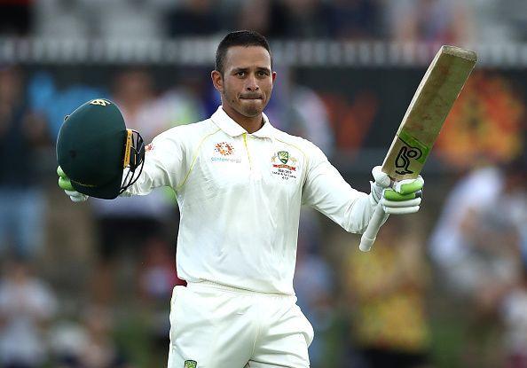 Usman khawaja scored brilliant hundred
