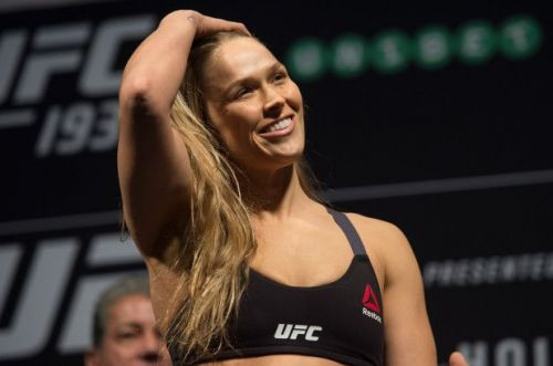 Ronda Rousey is a UFC Hall of Famer
