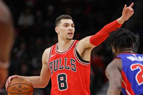 Zach LaVine, playing for the Chicago Bulls, just hit his career high of 42 points on Saturday, 23rd February 2019
