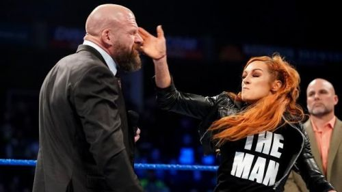 Becky Lynch featured in the opening segment of RAW and SmackDown Live
