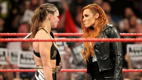 Could Becky Lynch interfere in Ronda Rousey's match against Ruby Riott at Elimination Chamber?