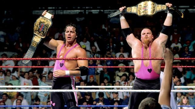 The Hart Foundation and Hart Family are one of the most respected groups in the business.