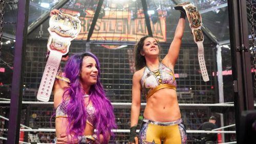 Bayley and Sasha Banks are your Women's Tag Team Champions
