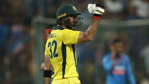 The T20I series was all about Glenn Maxwell