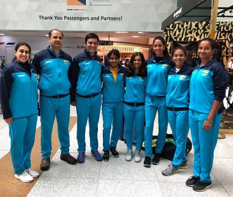 Team India - Fed Cup Qualifiers 2019