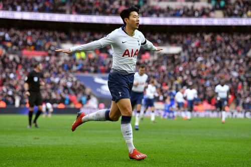 Heung Min Son has scored 3 goals in his last 3 Spurs games
