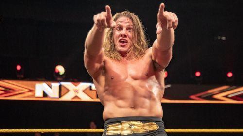 NXT Superstar Matt Riddle