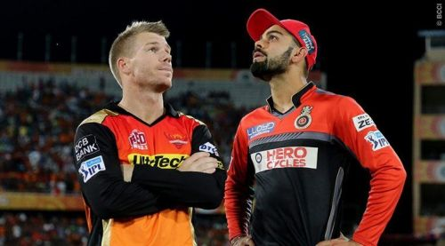 SRH had defeated RCB in the finals of the 2016 IPL to lift their maiden IPL trophy.