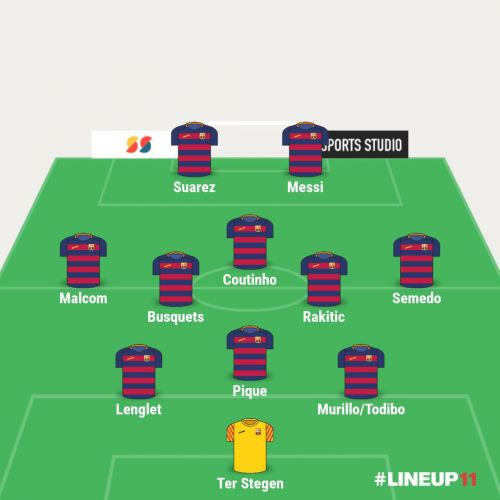 The probable lineup