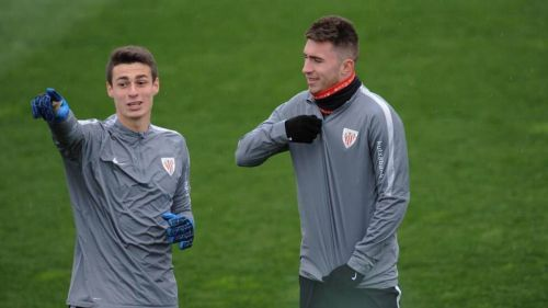 Kepa and Laporte played together in the LaLiga for Athletic Bilbao