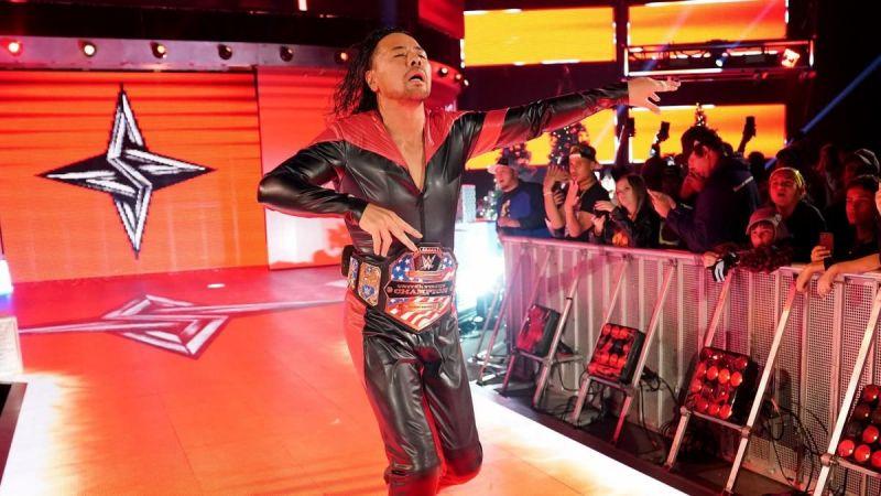 Shinsuke Nakamura as United States Champion
