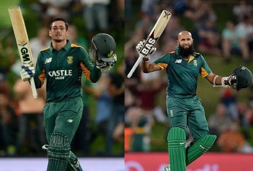 De Kock And Hashim Amla