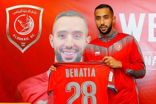 Medhi Benatia joined Qatari club, Al-Duhail, last month.