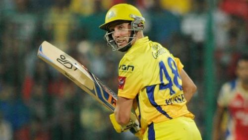 Hussey opened the batting for CSK in the tournament and built a solid platform for the other batsmen to follow.