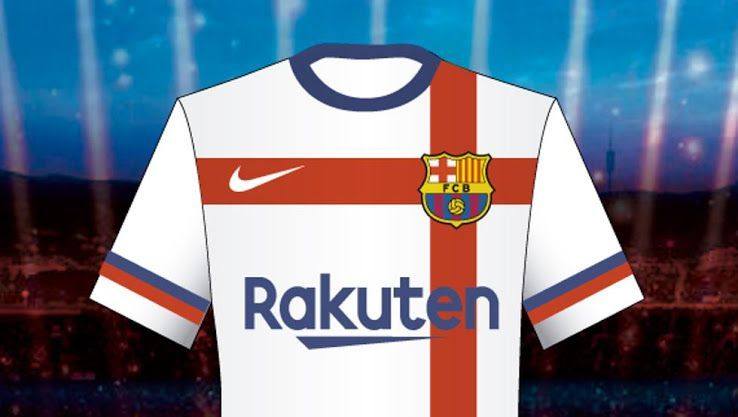 Reports Barcelona Reject Nike S White Jersey Design Due To Its