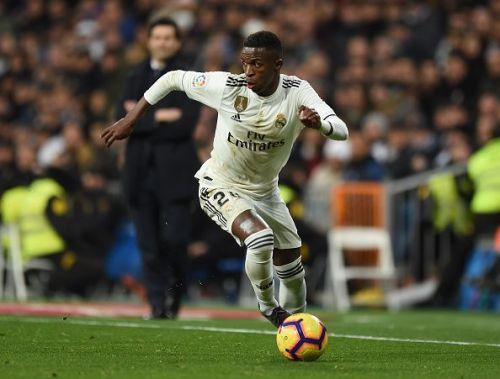 Vinícius Júnior has already become a fan favourite at the Santiago Bernabéu