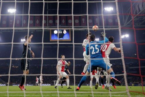 VAR ruled out Ajax's first goal but they had plenty of other opportunities which they couldn't cash-in with. They can repeat their antics in Spain.