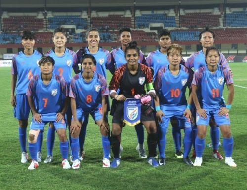 The Indian Women's Football Team