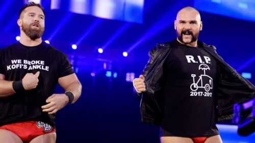 Will a possible push to the WWE Raw Tag Team Championships be enough to keep the Revival?