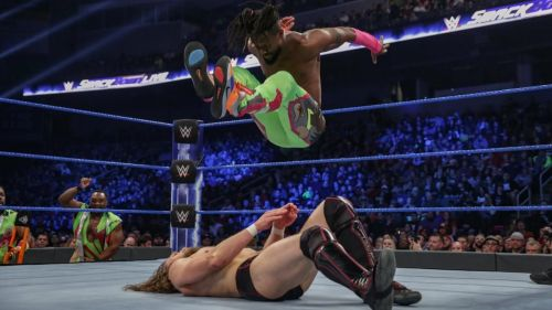 Kofi Kingston made quite the impact in his showing at the Gauntlet Match