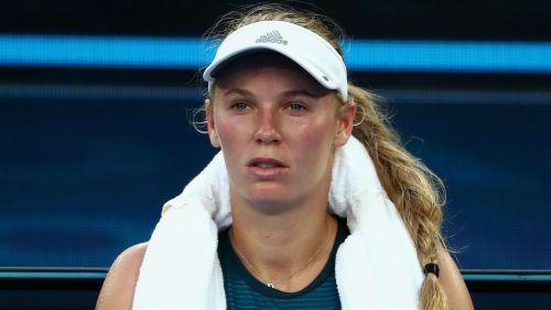 Former world number one Caroline Wozniacki