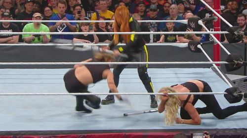 Becky and Charlotte could main event WrestleMania with Ronda Rousey