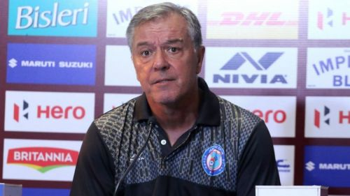 Jamshedpur coach Cesar Ferrando