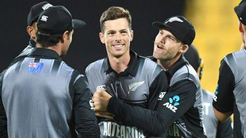 न्यूजीलैंड की टीम