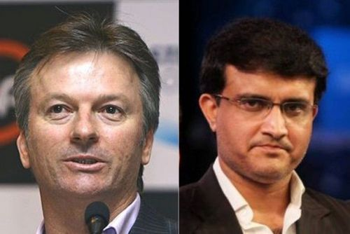Steve Waugh and Sourav Ganguly - Fierce competitors and rival captains