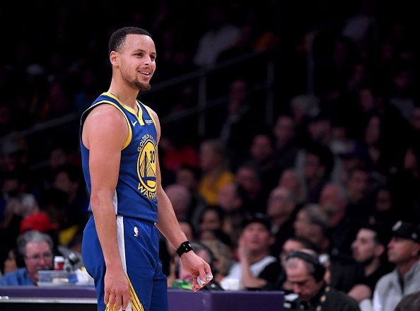 Stephen Curry was sensational against the Philadelphia 76ers in the loss