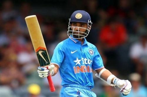 Rahane can play the dual role of an opener and a middle order batsman