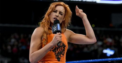 Becky Lynch has channeled her anger in a positive manner