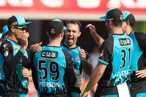 Hat-trick wicket taker lalor