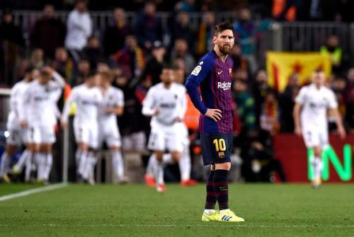 Messi is not pleased