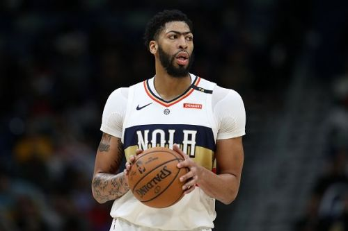 There has been no progress made by the Lakers in their pursuit of Anthony Davis