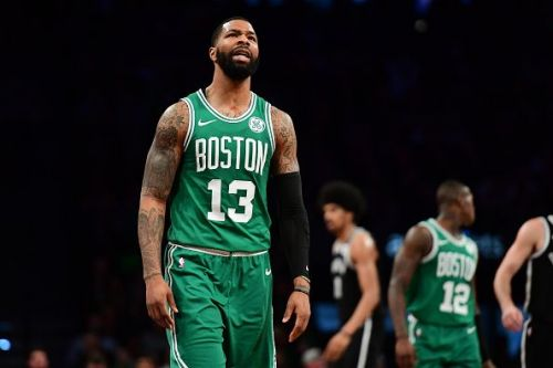 Marcus Morris had a strong outing against the Thunder with 19 points and 7 rebounds