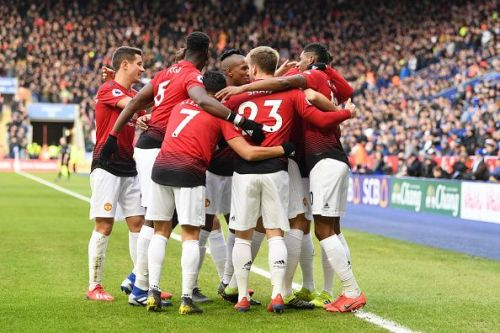 Rashford's strike in the ninth minute separated the two sides