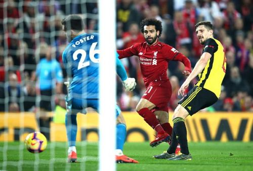 Liverpool thrashed their opponents 5-0