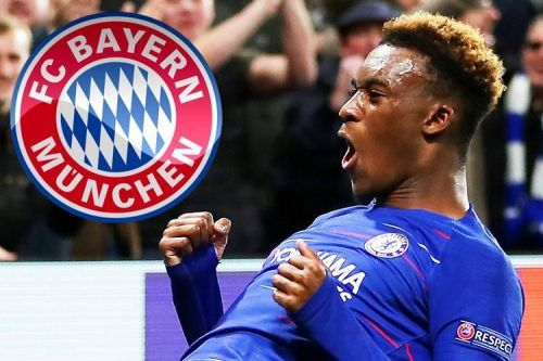 Bayern failed to sign Hudson-Odoi in January