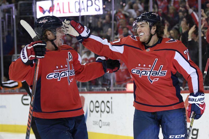 Capitals Rebound From 2 Goal Deficit Beat Senators 7 2