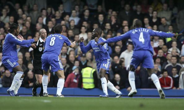Chelsea v West Ham United { 2005-06 Premier League}
