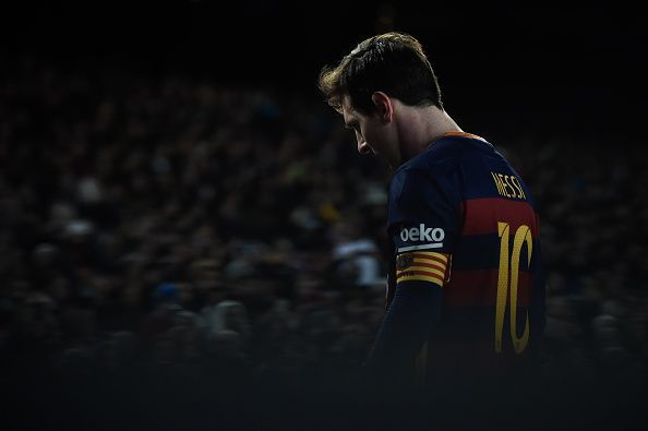 Lionel Messi is 31 now