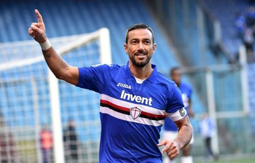 Quagliarella has spent his entire playing career in Italy