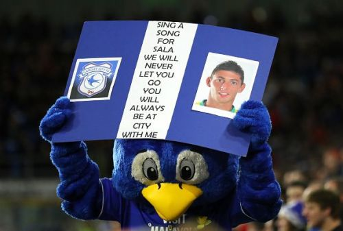 The newly signed Cardiff City striker never got to play for the Bluebirds