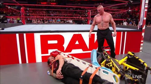 Will Brock Lesnar try to harm Reigns?